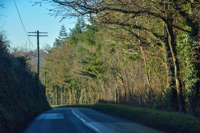 Beaford : The A3124