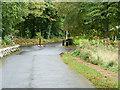 NS2410 : Exit Gate and Barrier, Culzean Castle Estate by David Dixon