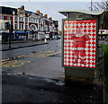 ST3188 : Christmas 2019 Coca-Cola advert, Clarence Place, Newport by Jaggery