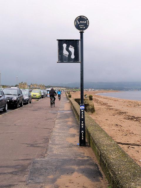 The Lang Scots Mile - Half Way Mark