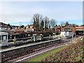 SD8402 : Crumpsall Metrolink Station, December 2019 by David Dixon
