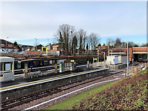 SD8402 : Crumpsall Metrolink Station, December 2019 by David Dixon