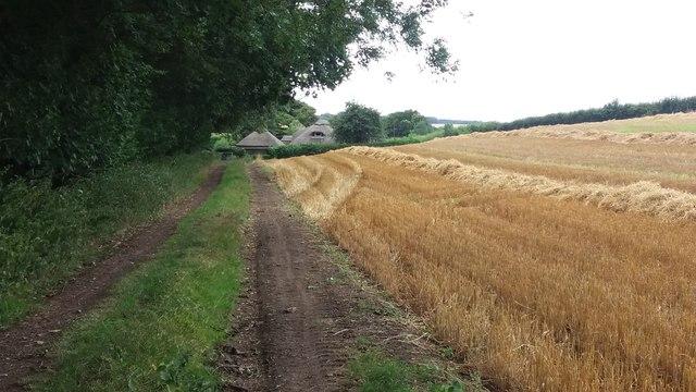 Bridleway nearing Wellclose Gate