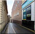 SO8405 : No parking in Rowcroft Retreat, Stroud by Jaggery