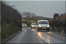 SW6832 : Wendron : Redruth Road B3297 by Lewis Clarke