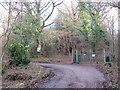 TQ3939 : Driveway through Brown's Wood, near East Grinstead by Malc McDonald