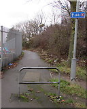 SP0189 : Cycle route 5, Smethwick by Jaggery