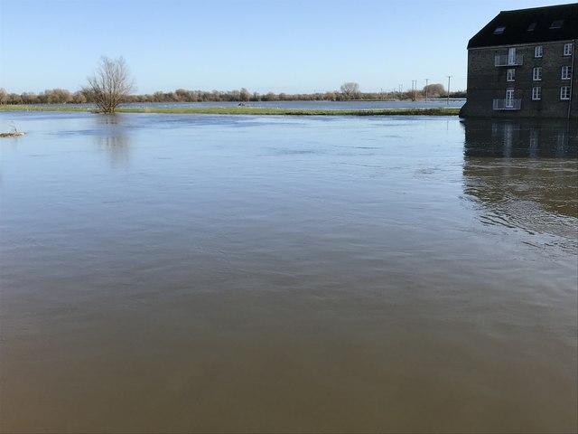 Flooding in Huntingdon, Winter 2019 - Photo 5/9