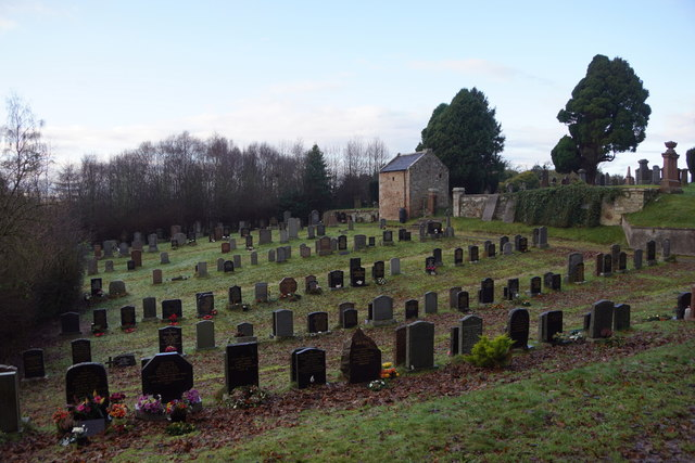 Graveyard at Castle Stuart