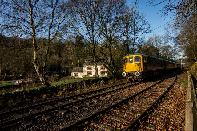 Train, House and Boat, Churnet Valley