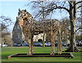 TR1557 : War Horse, Canterbury Cathedral precincts by pam fray