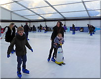 TR1457 : Christmas ice rink, Canterbury by pam fray