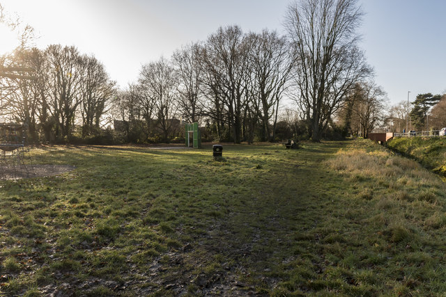 Empty Park, Midday Christmas 2019
