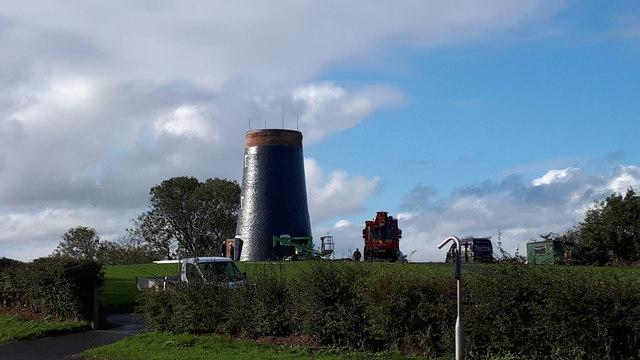 Muston Windmill rebuild Filey