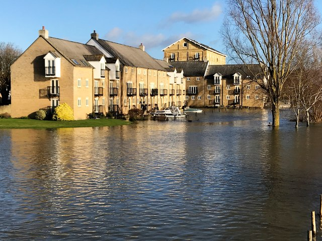 Flooding in St Ives, Winter 2019 - Photo 4/26