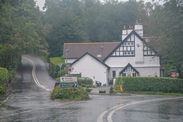 Bowness-on-Windermere : A592