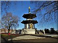 TQ2777 : The Peace Pagoda, Battersea Park by Neil Theasby