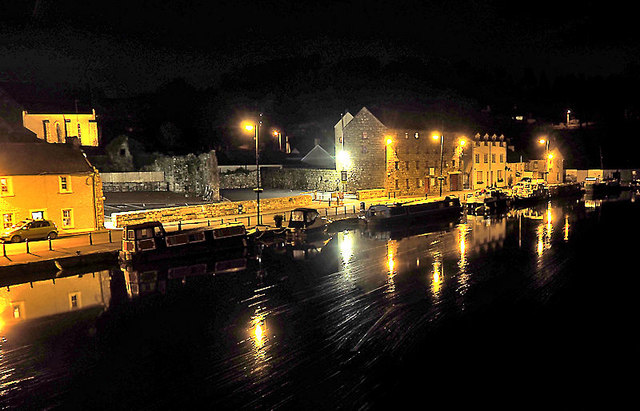 Quay at Night