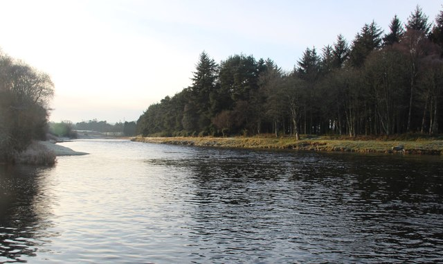 River Dee at Island of Dee
