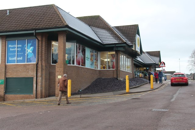 Supermarket in Banchory