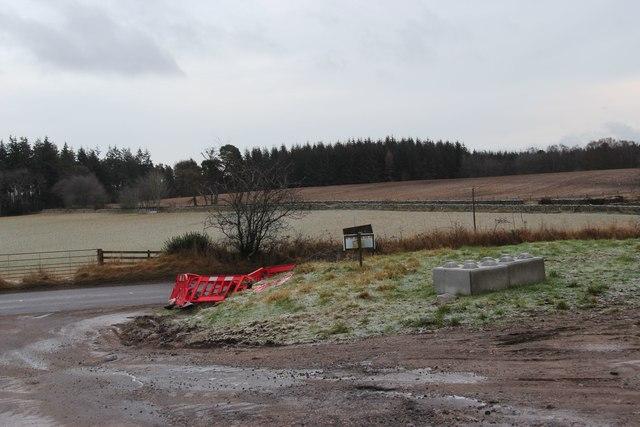 Fields at Mill of Raemoir