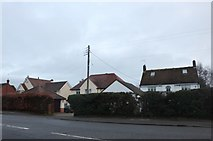 SP6848 : Houses on Brackley Road, Towcester by David Howard