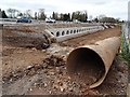 SO8540 : Large pipe and drainage culverts by Philip Halling