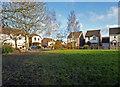 SO8856 : Grassed area off Powderham Avenue, Berkeley-Hunderton by Chris Allen