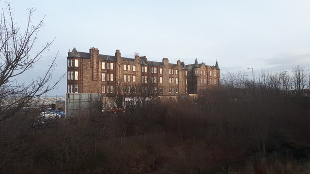 Building at the south end of Seafield Road East, Edinburgh