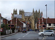 TA0339 : Level crossing on Flemingate, Beverley by JThomas