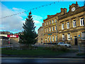 SE1422 : The 2019 Christmas Tree, Thornton Square, Brighouse by Humphrey Bolton