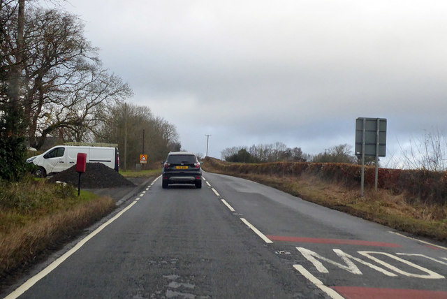 A697 heading north