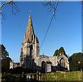 SK8723 : The Church of St John the Baptist, Buckminster by Bob Harvey