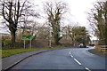 NU1201 : A697 towards Coldstream by Robin Webster