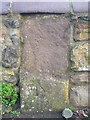 ST5671 : Damaged milestone on Clanage Road by Neil Owen
