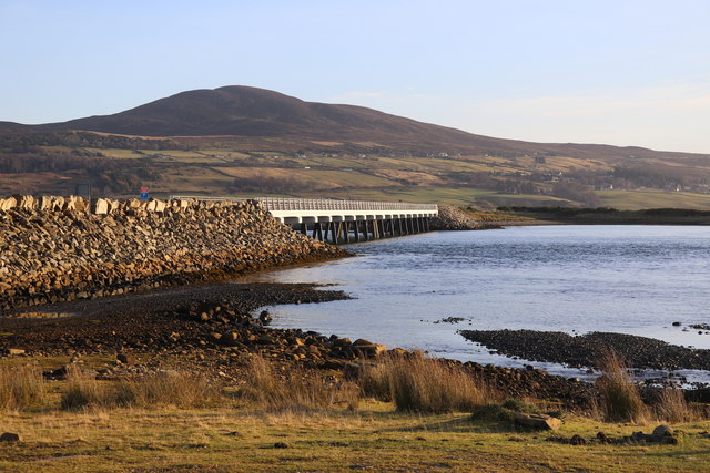 Causeway over the Kyle of Tongue