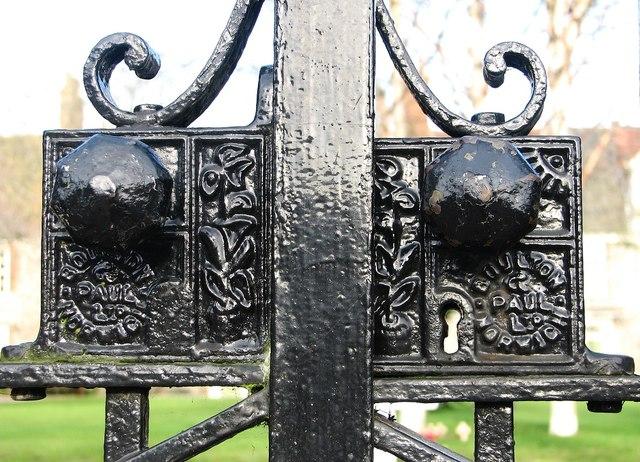 The Great Hospital - Boulton & Paul gate