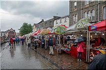 NY2623 : Keswick : Market Square by Lewis Clarke