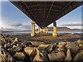 NH6647 : The A9 Kessock Bridge by valenta