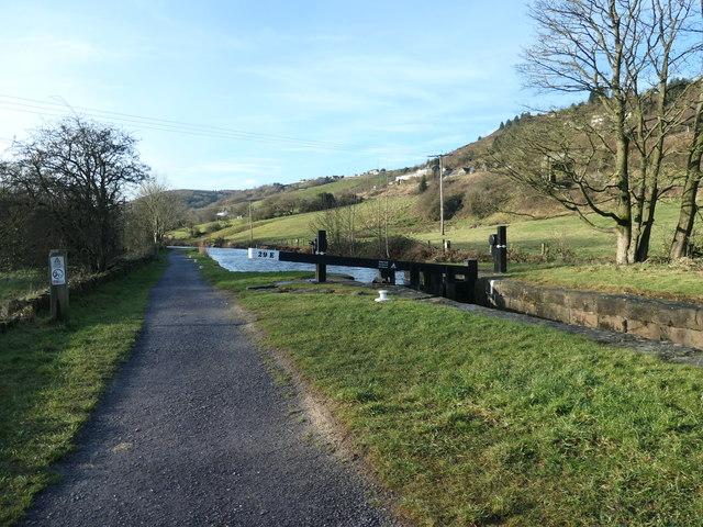 Huddersfield Narrow Canal, above Lock 29E