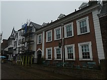 SX9292 : Commercial properties, Cathedral Close, Exeter by David Smith