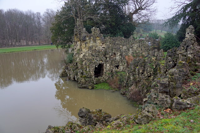 'The Grotto' - a folly at Painshill, Cobham