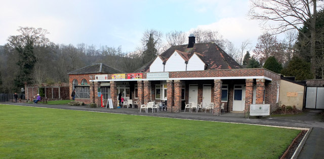 Tarquin's Tea Rooms, Myrtle Park, Bingley