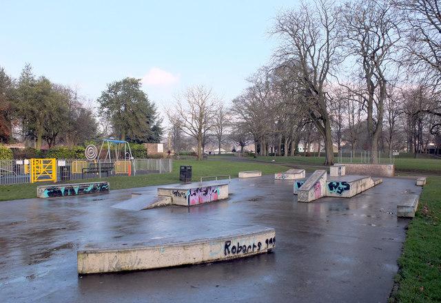 Skate park, Myrtle Park, Bingley