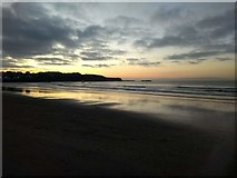 C8540 : Sunset West Bay Portrush by Willie Duffin