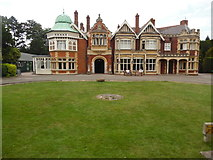 SP8633 : The Mansion in Bletchley Park by David Hillas