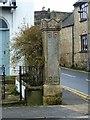 TF0206 : Gatepost, Rutland Terrace, Stamford by Alan Murray-Rust