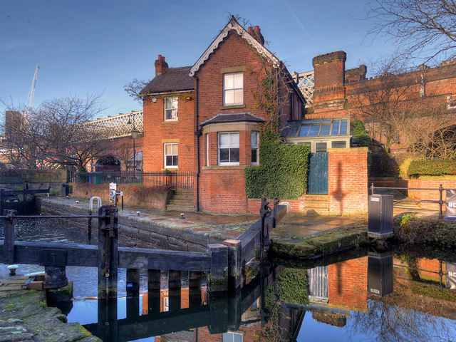 Rochdale Canal, Lock#92 and Keeper's Cottage