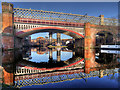 SJ8397 : Castlefield Viaducts by David Dixon