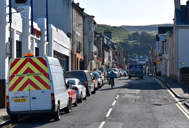 Nelson Street, Largs, North Ayrshire by Mark S